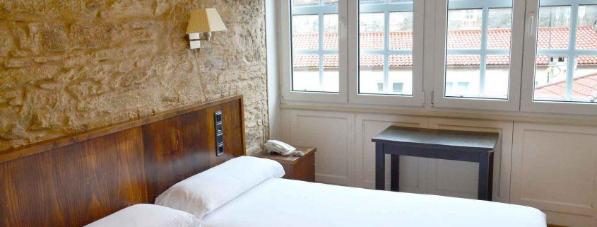 Los mejores hoteles en el centro de Santiago de Compostela con encanto