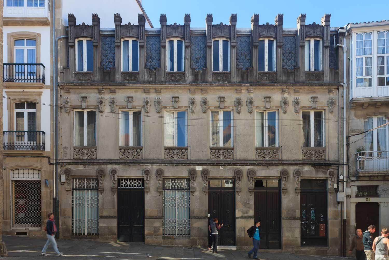 Casas Reais es una de las cosas imprescindibles que ver en Santiago de Compostela